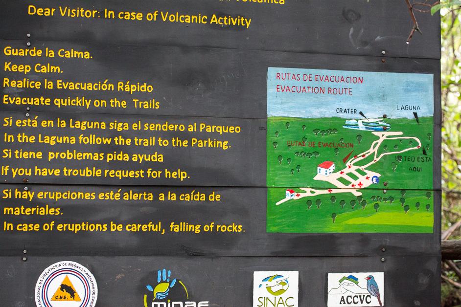 Poas Volcano Evacuation Plan