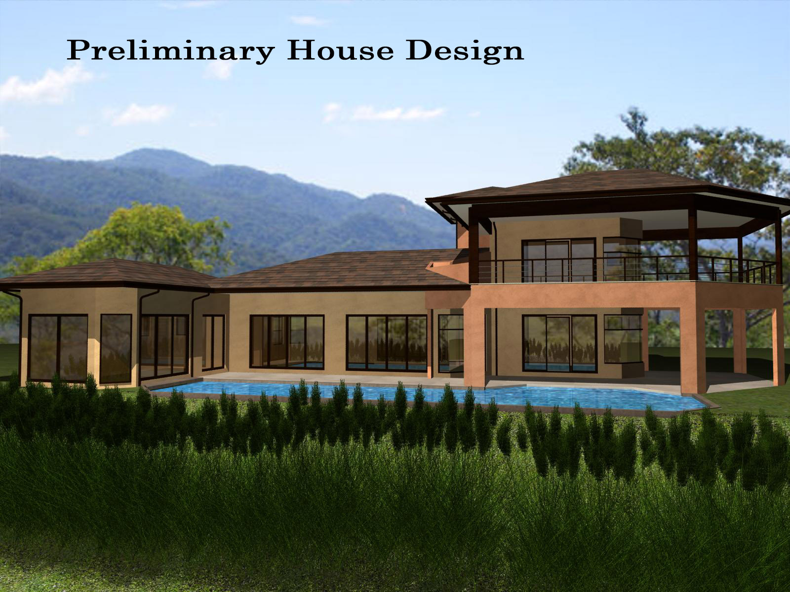 Building a house in costa rica for Costa rica house plans