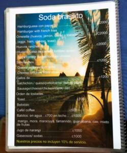 Costa Rica Prices