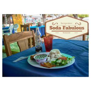 Soda Restaurant in Costa Rica