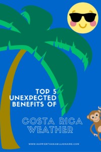 Top 5 Benefits of Costa Rica Weather